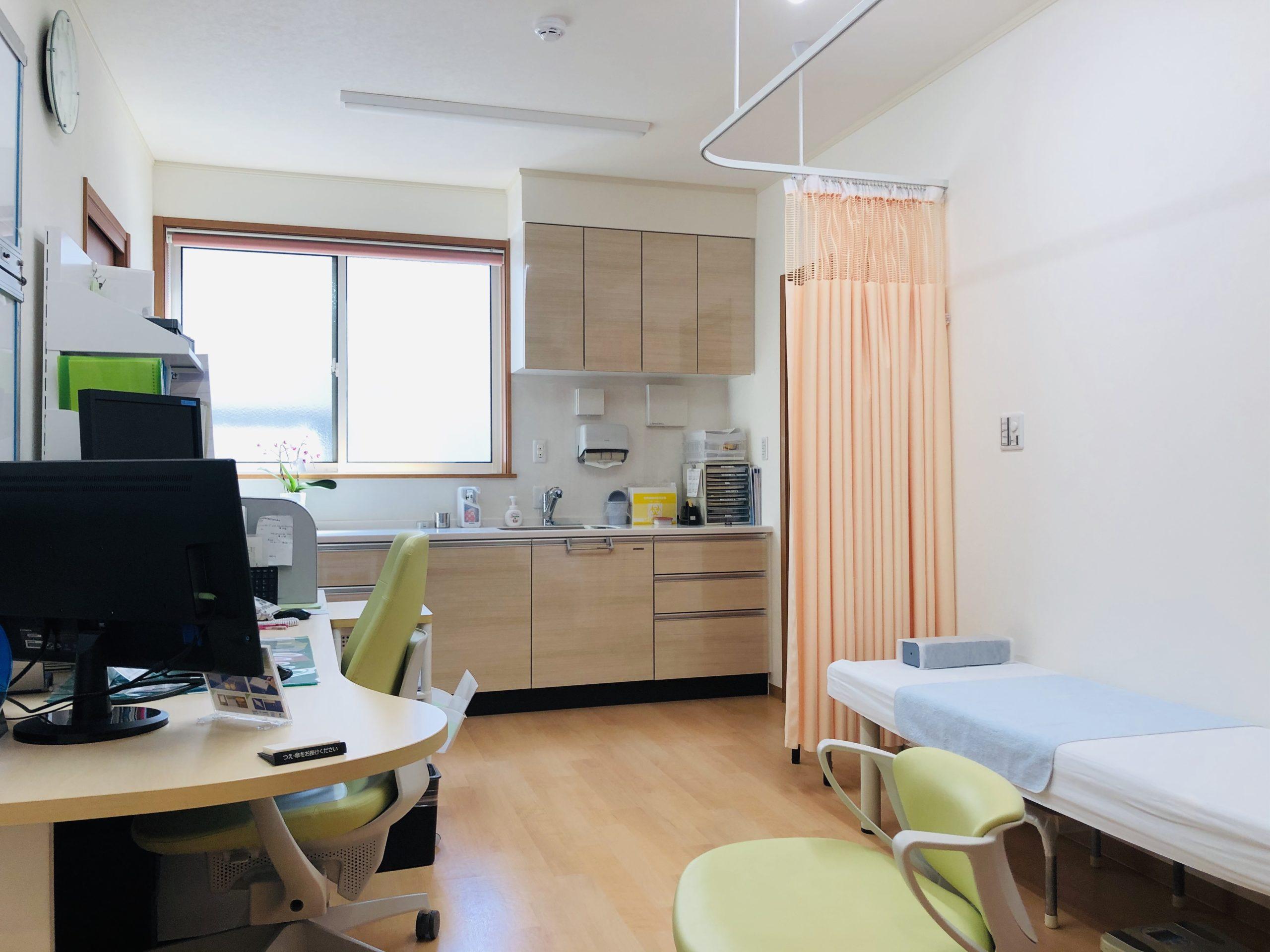 新家クリニック診察室